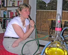 Narguilé à oxygène domestique